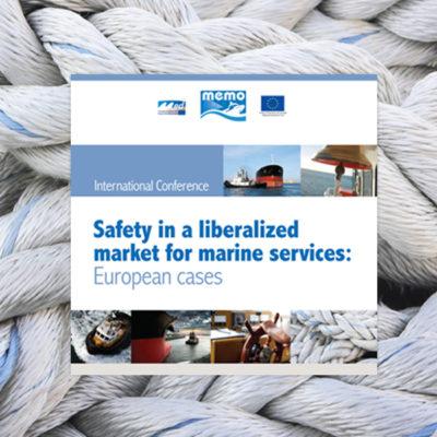 Comunicazione visiva per eventi - Autorità Portuale Venezia - Safety in a Liberalized Market