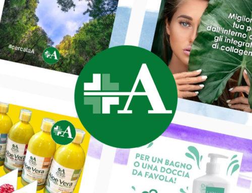 Grafica Social Media Farmacia All'Olmo